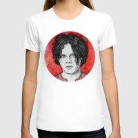 jack white T-shirts featuring Jack White by Sosha Krosley