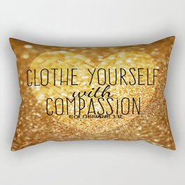 Compassion Rectangular Pillow
