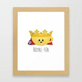 Royal-tea Framed Art Print