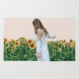Lost in Sunflowers Rug