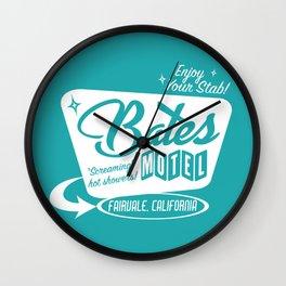 Enjoy Your Stab! Wall Clock