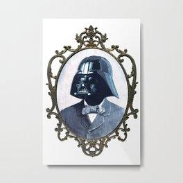 Formal Vader Metal Print