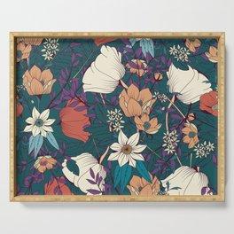 Botanical pattern 008 Serving Tray