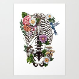 A New Breath Art Print