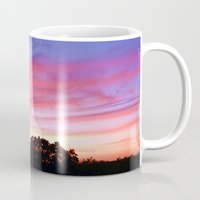 wisconsin Mugs featuring Wisconsin Sunset by Ron Trickett