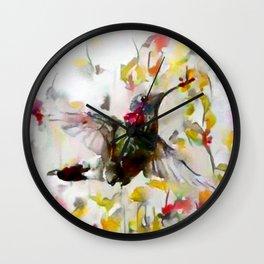 Lighter Than Air Wall Clock