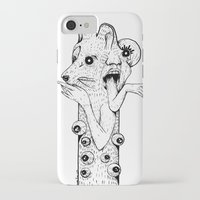 werewolf iPhone & iPod Cases featuring Werewolf by Benson Koo