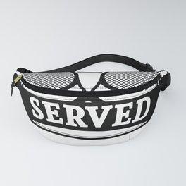 You Just Got Served Tennis T Shirt Fanny Pack