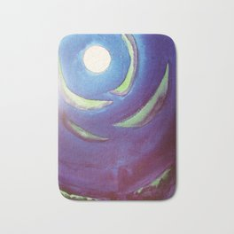 Rose Moon Bath Mat