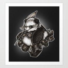 Panda's Day Off Art Print