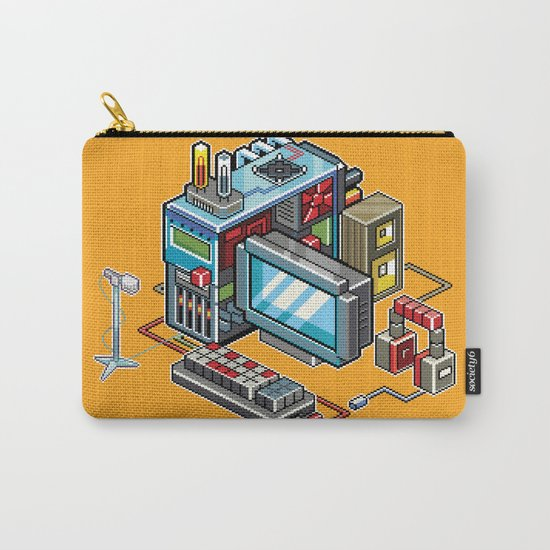 8bit computer Carry-All Pouch