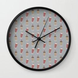 My Milkshake Wall Clock