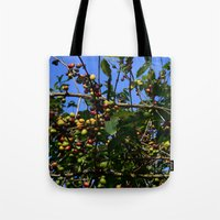 cafe Tote Bags featuring Cafe by Camaracraft
