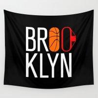 brooklyn Wall Tapestries featuring Brooklyn by David Bastidas