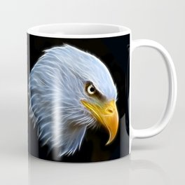 Fractal Bald Eagle Coffee Mug