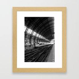 Station Amsterdam Framed Art Print