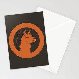 Orange Llama Stationery Cards