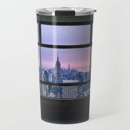 New York City Skyline Views Travel Mug