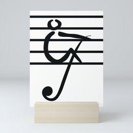 Rowing & Music Key1 Mini Art Print