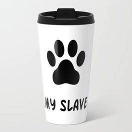 Cat's thoughts Travel Mug