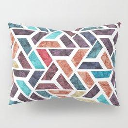Seamless Colorful Geometric Pattern XVI Pillow Sham