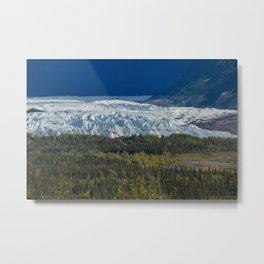 Matanuska Glacier, Alaska - Summer Metal Print