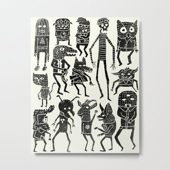 Bump in the Night Metal Print