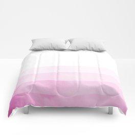 Dip Dye - Fuscia Comforters