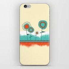 Four Wild Flowers iPhone Skin