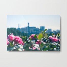 Floral blur Metal Print