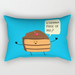 Trouble Baker Rectangular Pillow