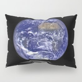 Earth Rising over the Horizon of the Moon Pillow Sham