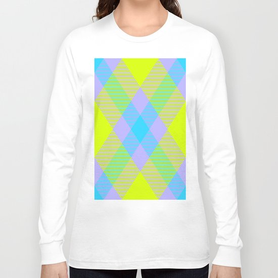 Tartan Pattern 6 Long Sleeve T-shirt