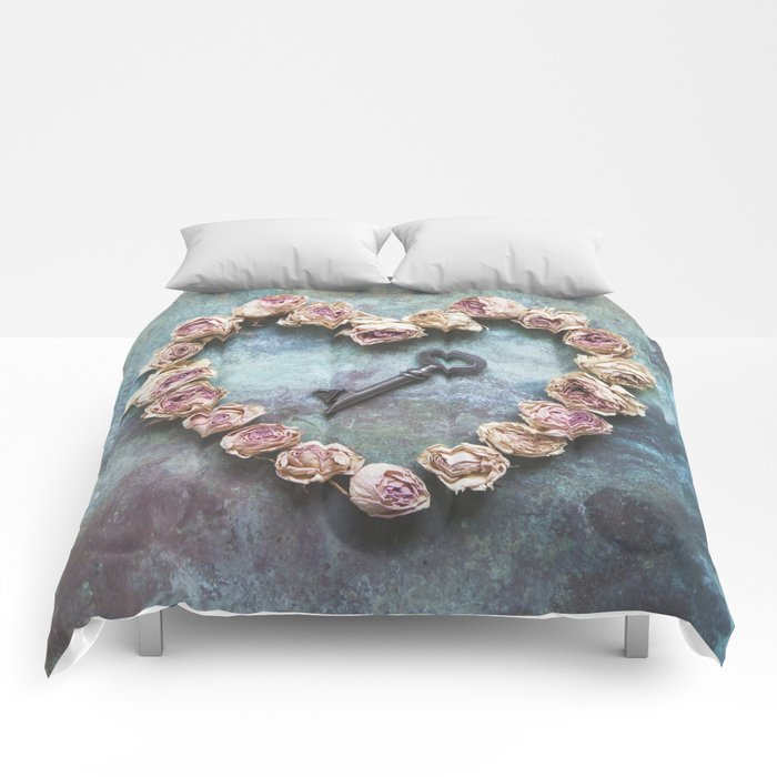 The key to your heart Comforters