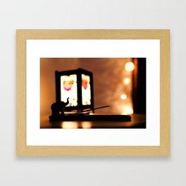 Insence Framed Art Print