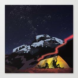 Tent Stories Canvas Print