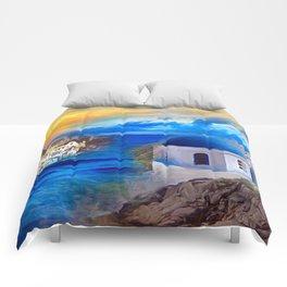 Santorini Dreamscape Comforters