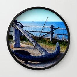 Anchor and Ship Wall Clock