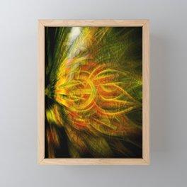 Concept digital : Colors for the heart Framed Mini Art Print