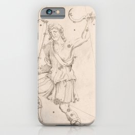 Johann Bayer - Uranometria / Measuring the Heavens (1661) - 05 Bootes iPhone Case