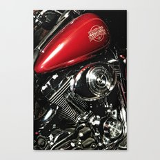 Harley Art Canvas Print