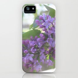 Lovely Lilac iPhone Case