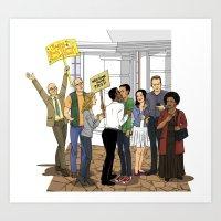 Welcome Home Troy Art Print