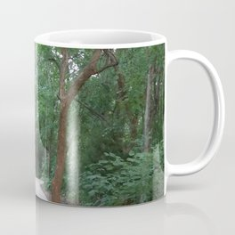 I just felt like running. (no text) Coffee Mug