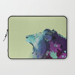 Colorful Geometric Lion Laptop Sleeve