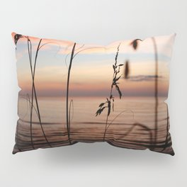 Sunset Sea Grass Pillow Sham