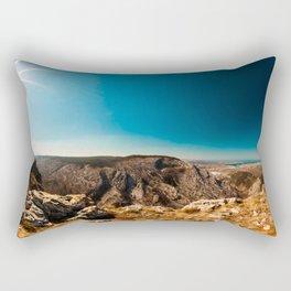 Sunny day in Val Rosandra Rectangular Pillow