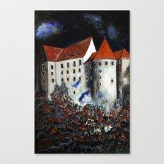 Loket Castle Canvas Print