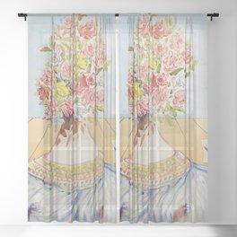 Salvador Dali Sheer Curtain