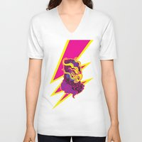 storm V-neck T-shirts featuring Storm by HanYong